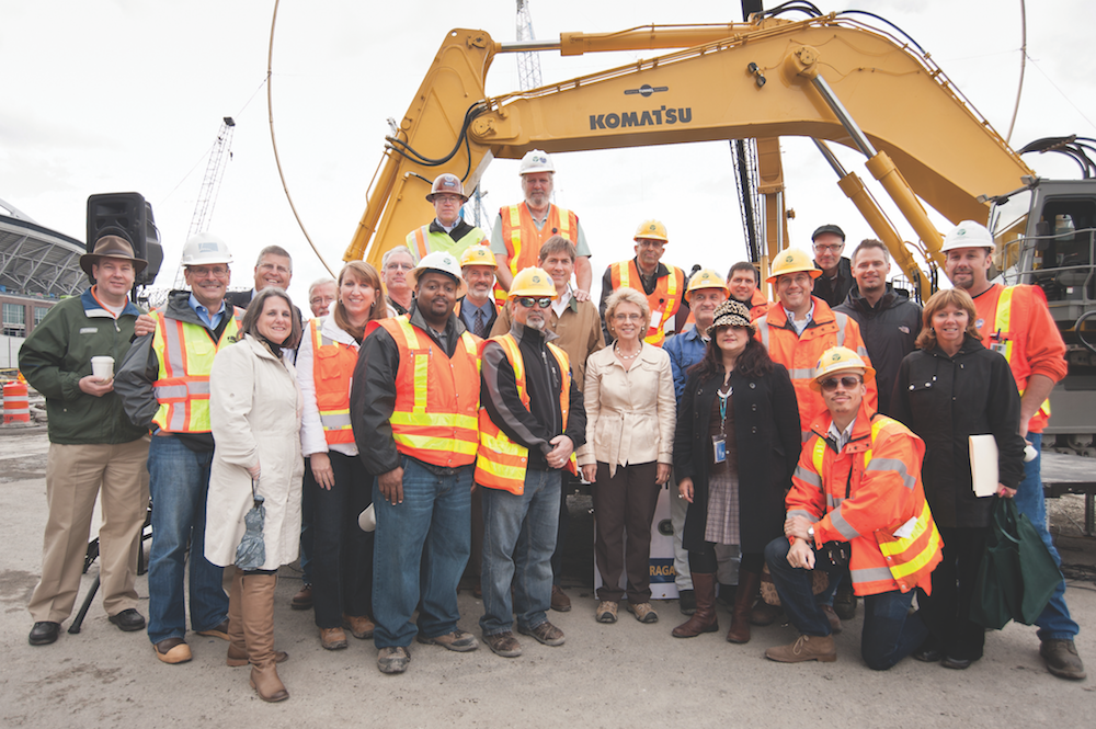 WSDOT members celebrate opening of SR-99 tunnel - PROTEC17